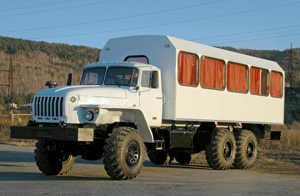 Вахтовый автобус для МЧС