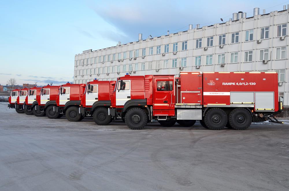 Автозавод «Урал» поставил партию автомобилей для МЧС
