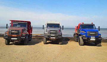 Полноприводные и дорожные автомобили «Урал NEXT» в рамках презентаций преодолели 4 тысячи км по Дальневосточному федеральному округу