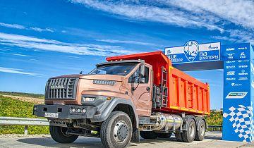 Дорожный автомобиль «Урал NEXT 6x4 LNG» успешно завершил участие в автопробеге «Газ в моторы-2019»