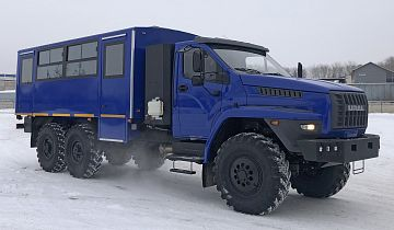 Вахтовые автобусы «Урал» на газовом топливе поставлены на предприятия «Газпрома»