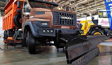 Семейство дорожных грузовиков «Урал NEXT 6х4» пополнилось новой спецтехникой
