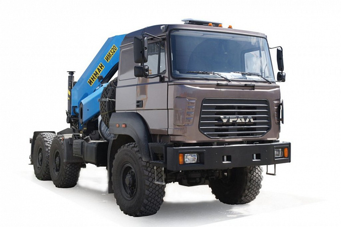 GAZ Group presents vehicles for construction sector based on Ural-M new family at the Construction Equipment and Technologies Exhibition